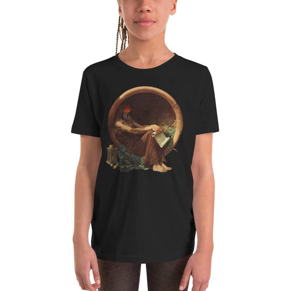 The Philosopher's Shirt Kids Shirt Triggered Diogenes <br><br>Kids T-Shirt