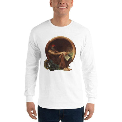 The Philosopher's Shirt Long-Sleeve Tee Triggered Diogenes <br><br>Long-Sleeved Shirt