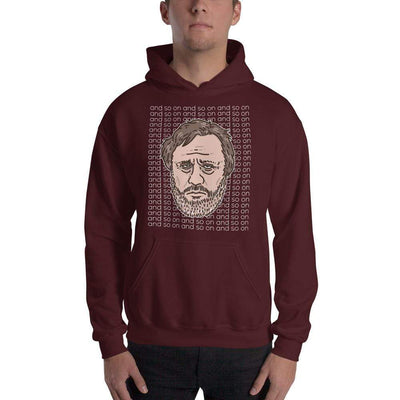 The Philosopher's Shirt Zizek - And so on <br><br>Hoodie