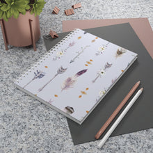 Load image into Gallery viewer, Boho Arrows Spiral Notebook