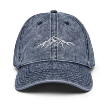 Load image into Gallery viewer, Mountain Lover Vintage Cotton Twill Cap