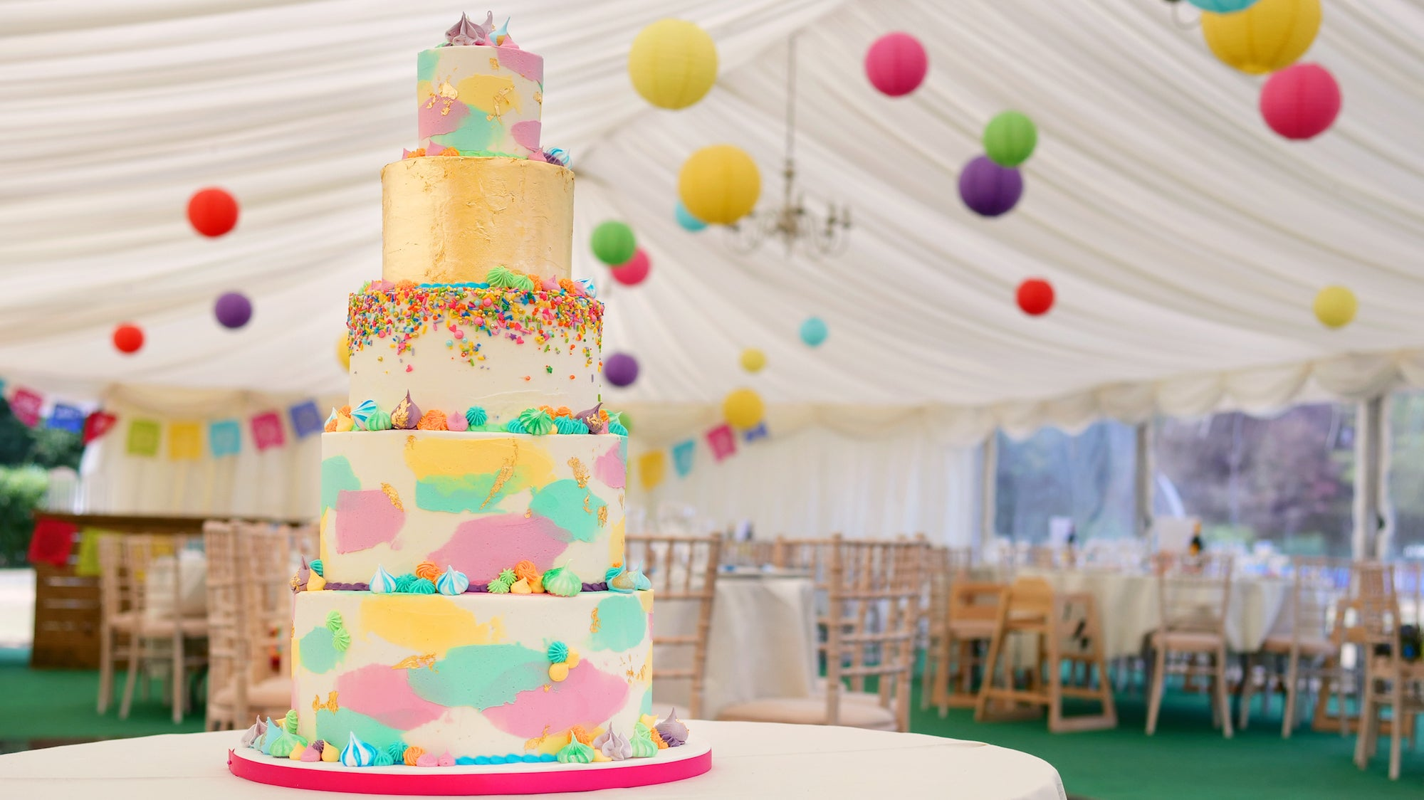 Tiered Wedding Cakes And More