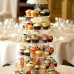 Brazilian-London wedding cupcakes