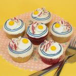 Eggs & Bacon cupcakes