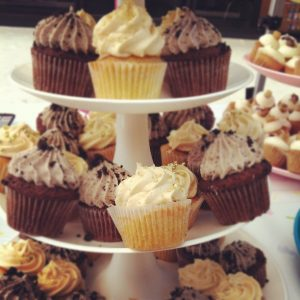 mini oreo and banoffee cupcakes