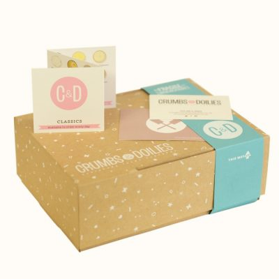 Our new boxes are string, stylish and 100% environmentally friendly