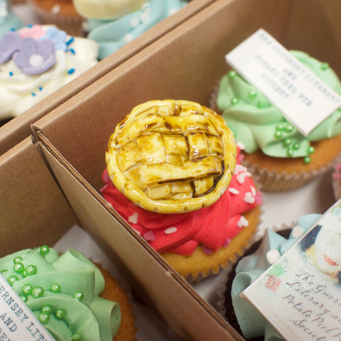 The Guernsey Literary And Potato Peel Pie Society Cupcakes