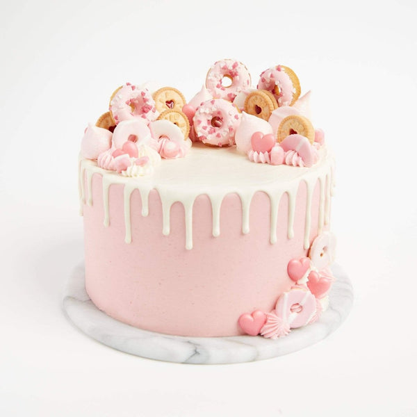 Pretty In Pink Cake by Crumbs & Doilies