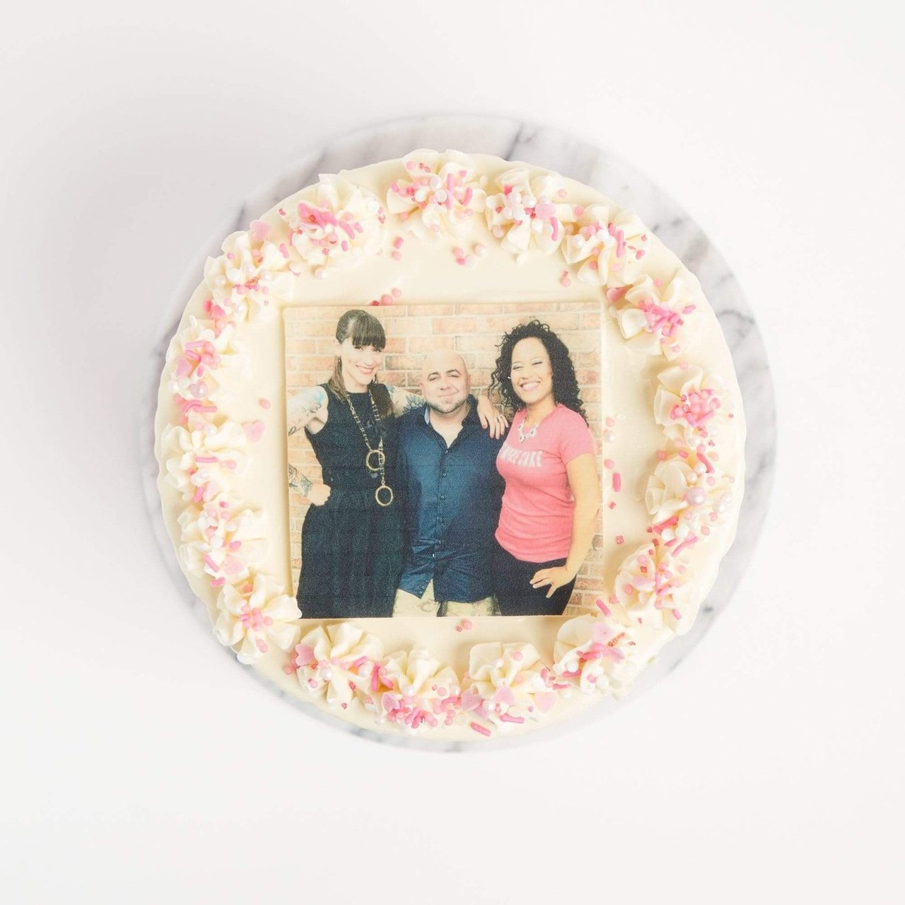 Edible Image Photo Cake