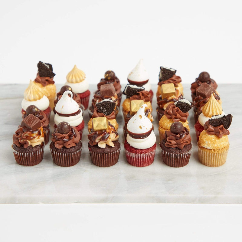 Billionaires Cupcake Selection