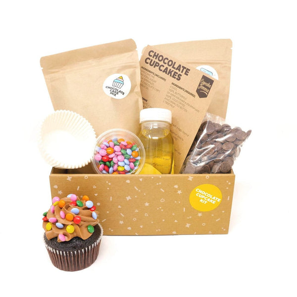 Chocolate Cupcake Baking Kit