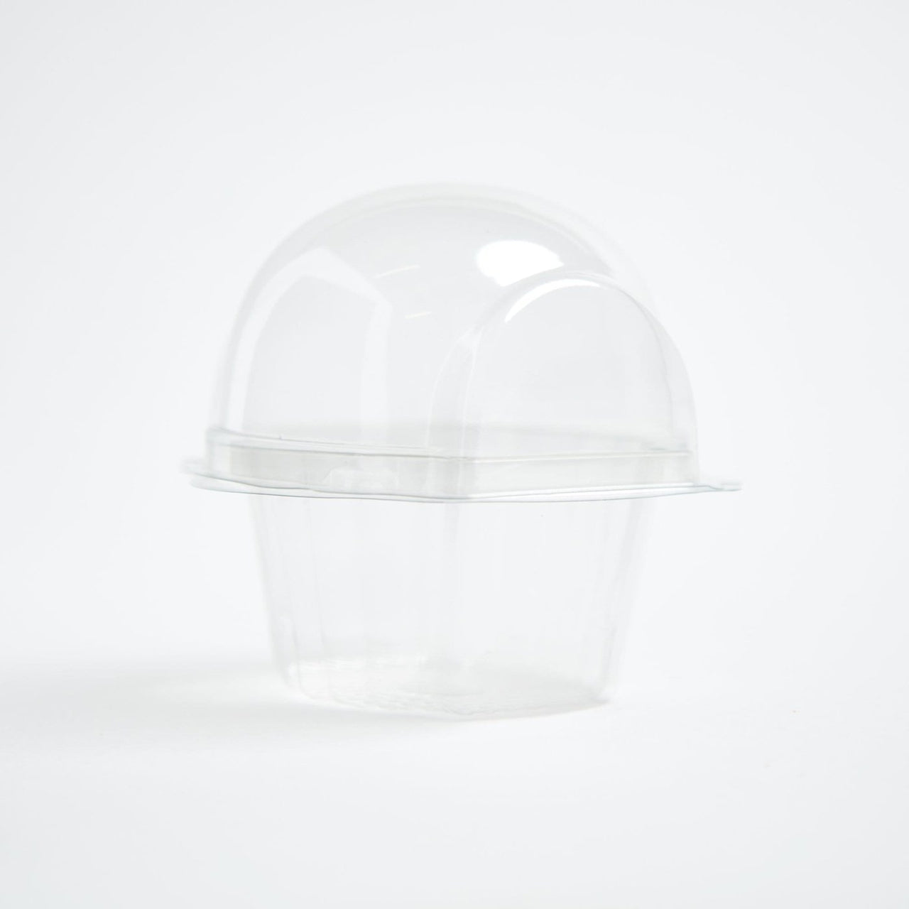 Clear cupcake pods
