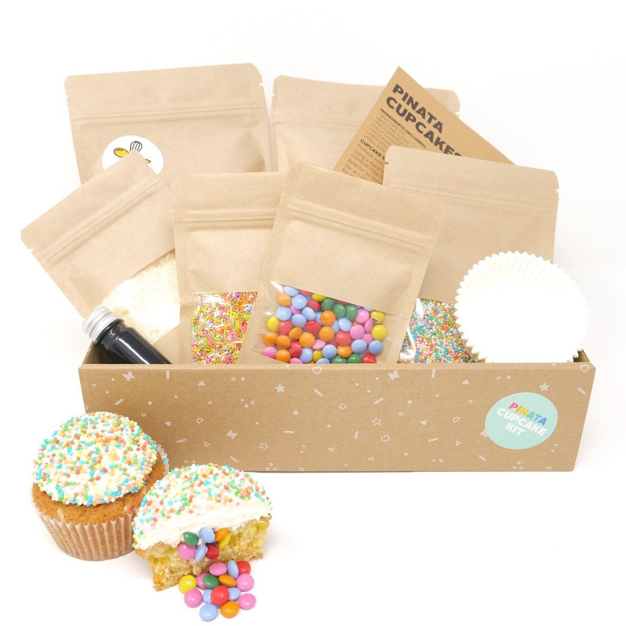 Pinata Cupcake Baking Kit