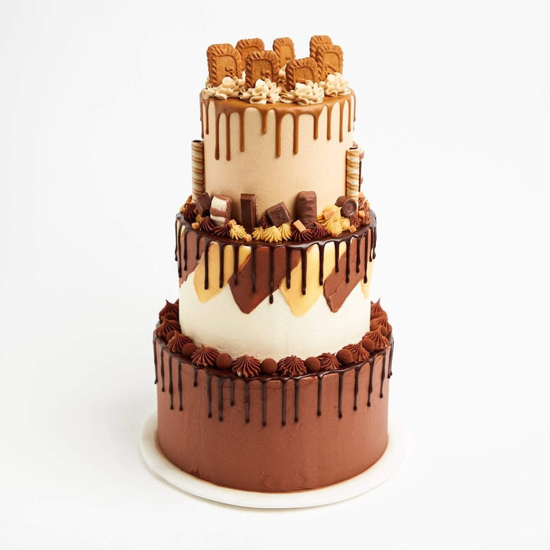 Triple Stacked Cake