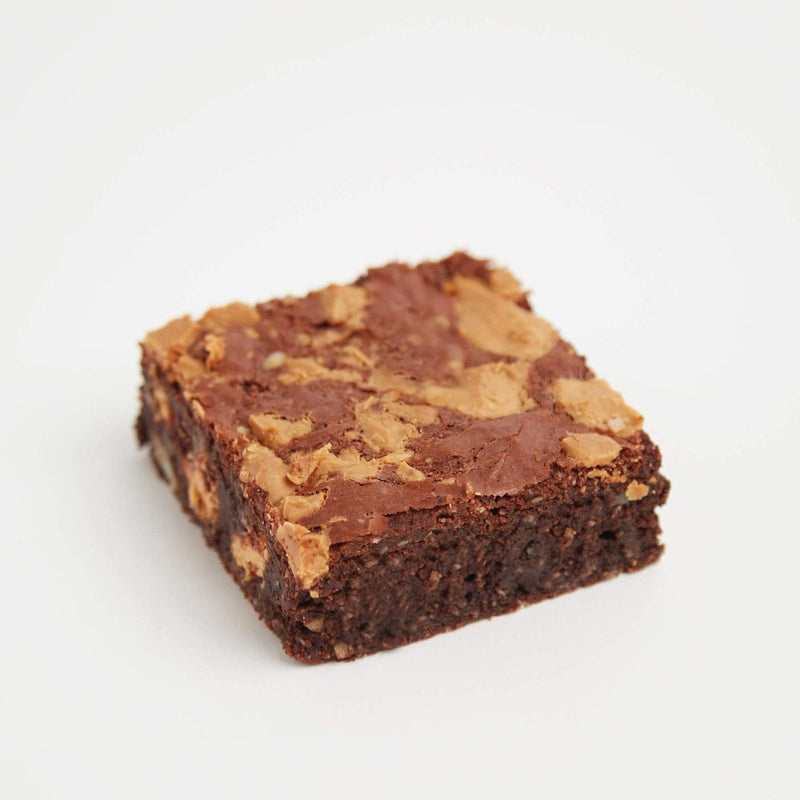 Gluten-Free Caramelised White Chocolate Brownie