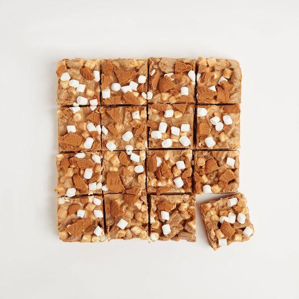 Biscoff Rocky Road by Crumbs & Doilies