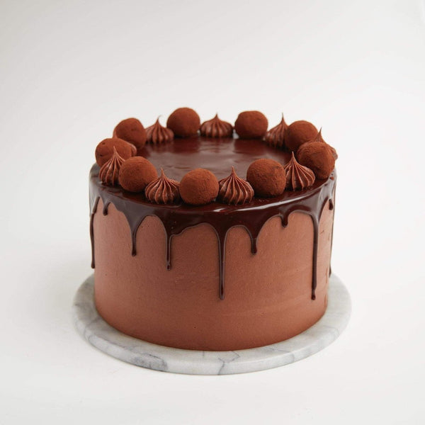 Chocolate Deluxe Cake by Crumbs & Doilies