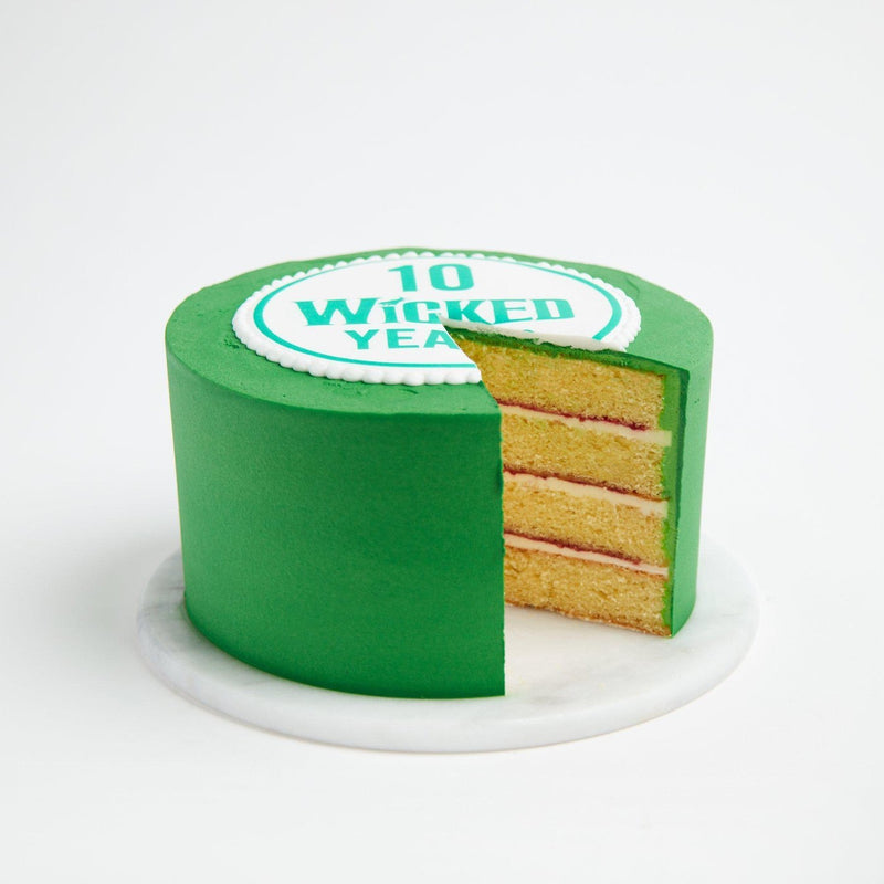 Colour matched cake with logo