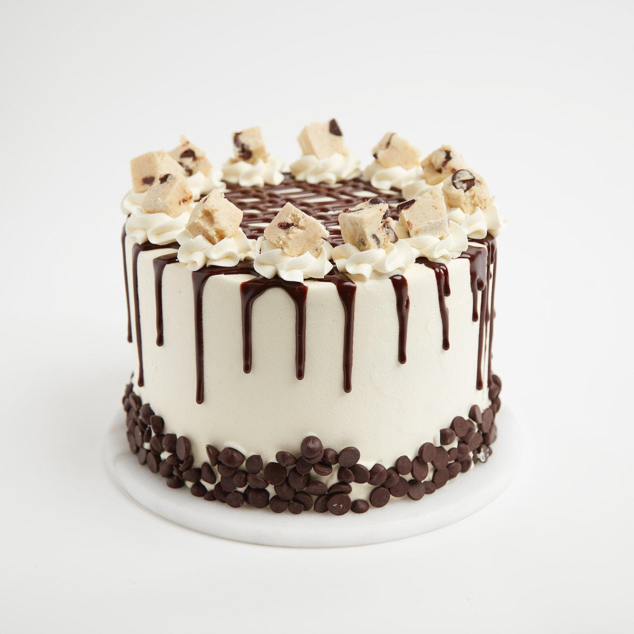 Cookie Dough Cake by Crumbs & Doilies