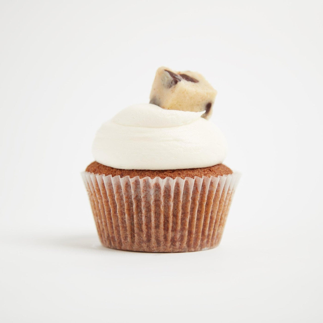 Cookie Dough Cupcakes by Crumbs & Doilies