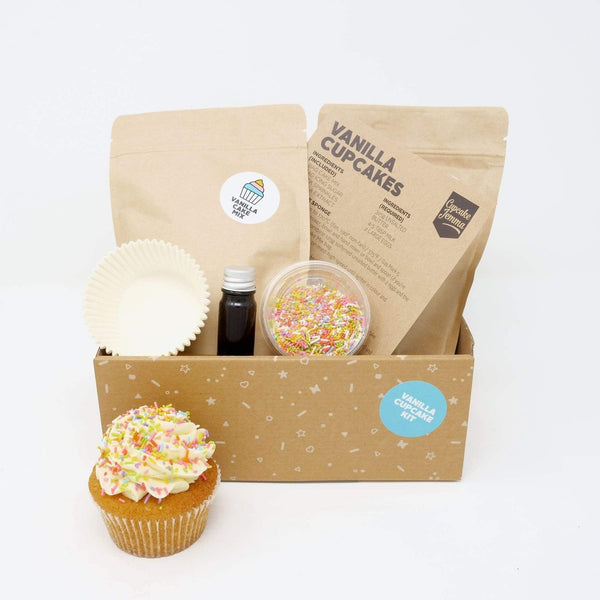 Vanilla Cupcake Baking Kit