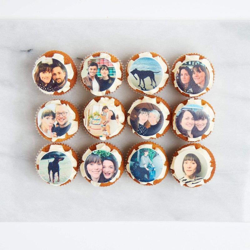 Edible Photo Cupcakes