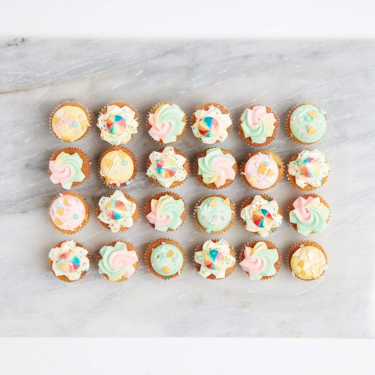 Full-On Unicorn Cupcakes