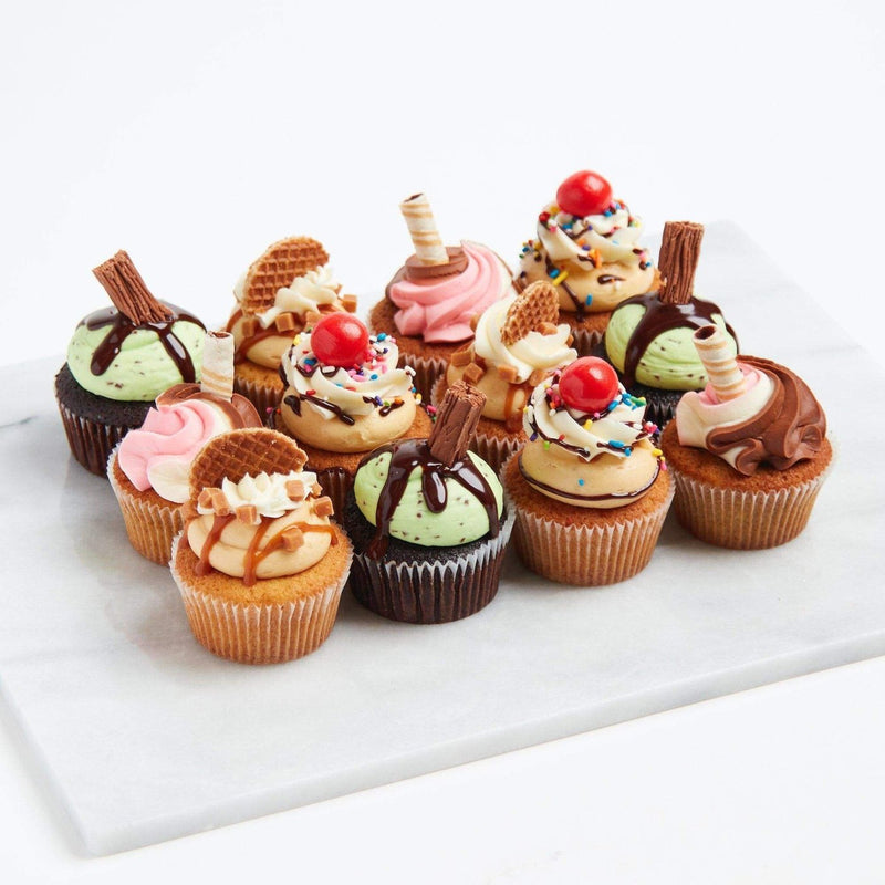 Ice Cream Cupcake Selection