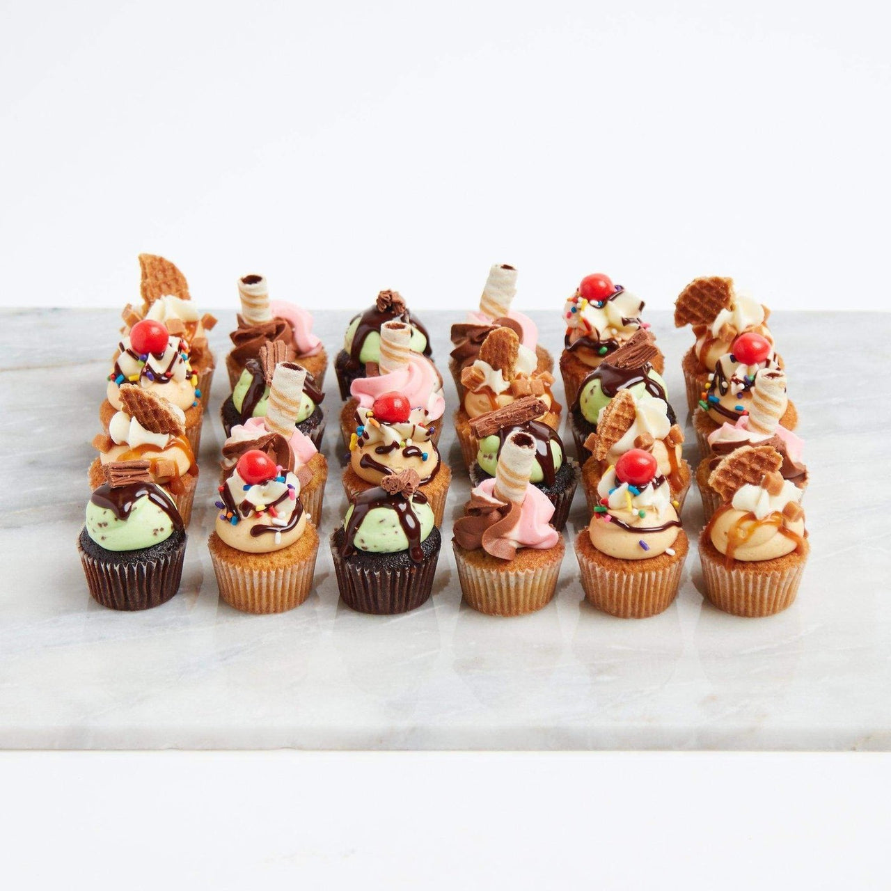 Ice Cream Shop Cupcakes