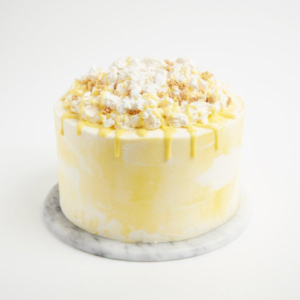 Lemon Meringue Pie Cake by Crumbs & Doilies