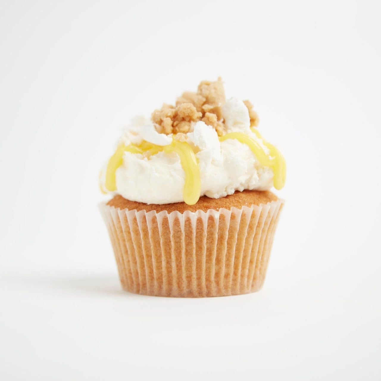 Lemon Meringue Pie Cupcakes by Crumbs & Doilies