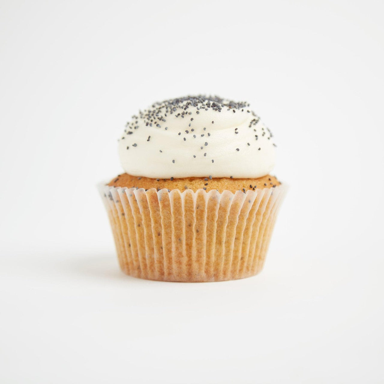 Gluten-Free Lemon & Poppyseed Cupcakes by Crumbs & Doilies