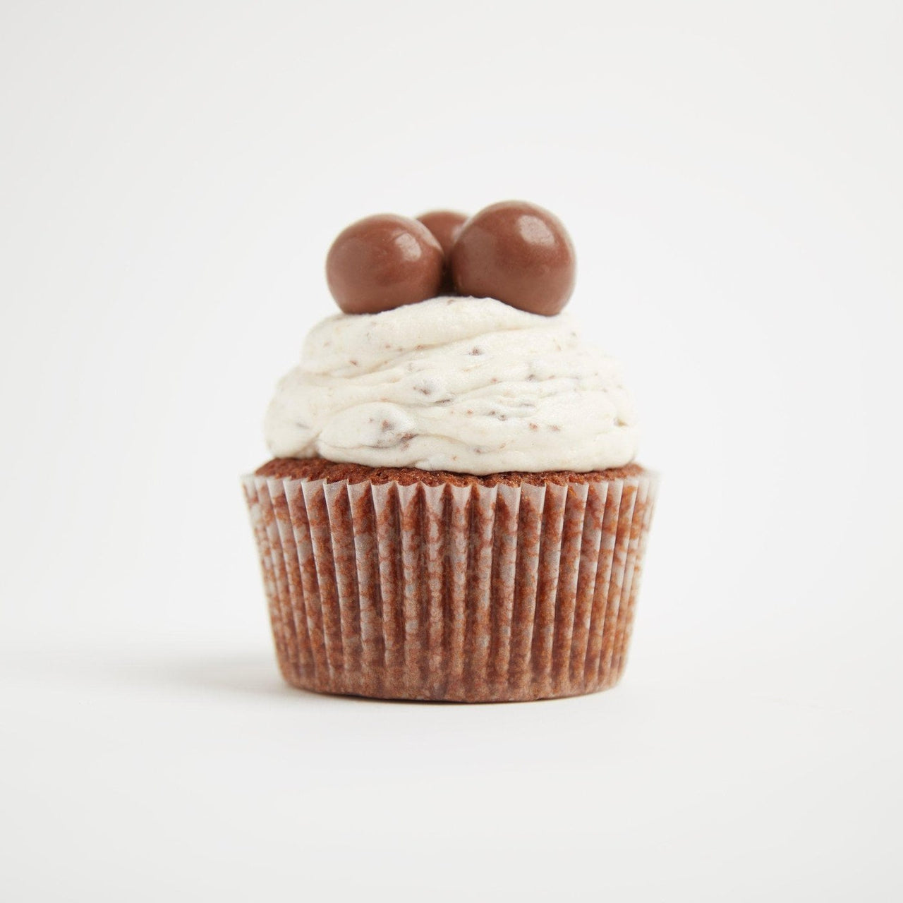 Malteser Cupcakes by Crumbs & Doilies