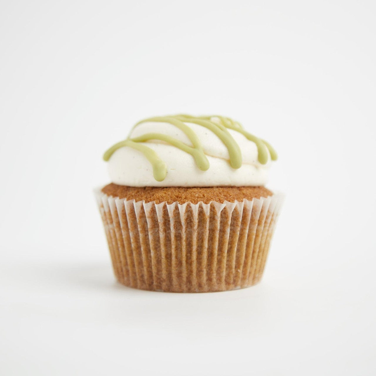 Matcha white chocolate Cupcakes by Crumbs & Doilies