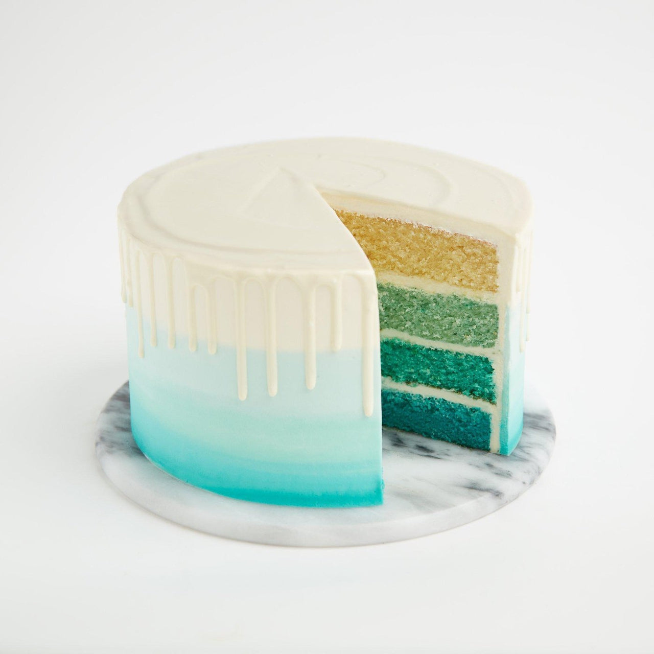 Gluten-Free Ombre Cake by Crumbs & Doilies