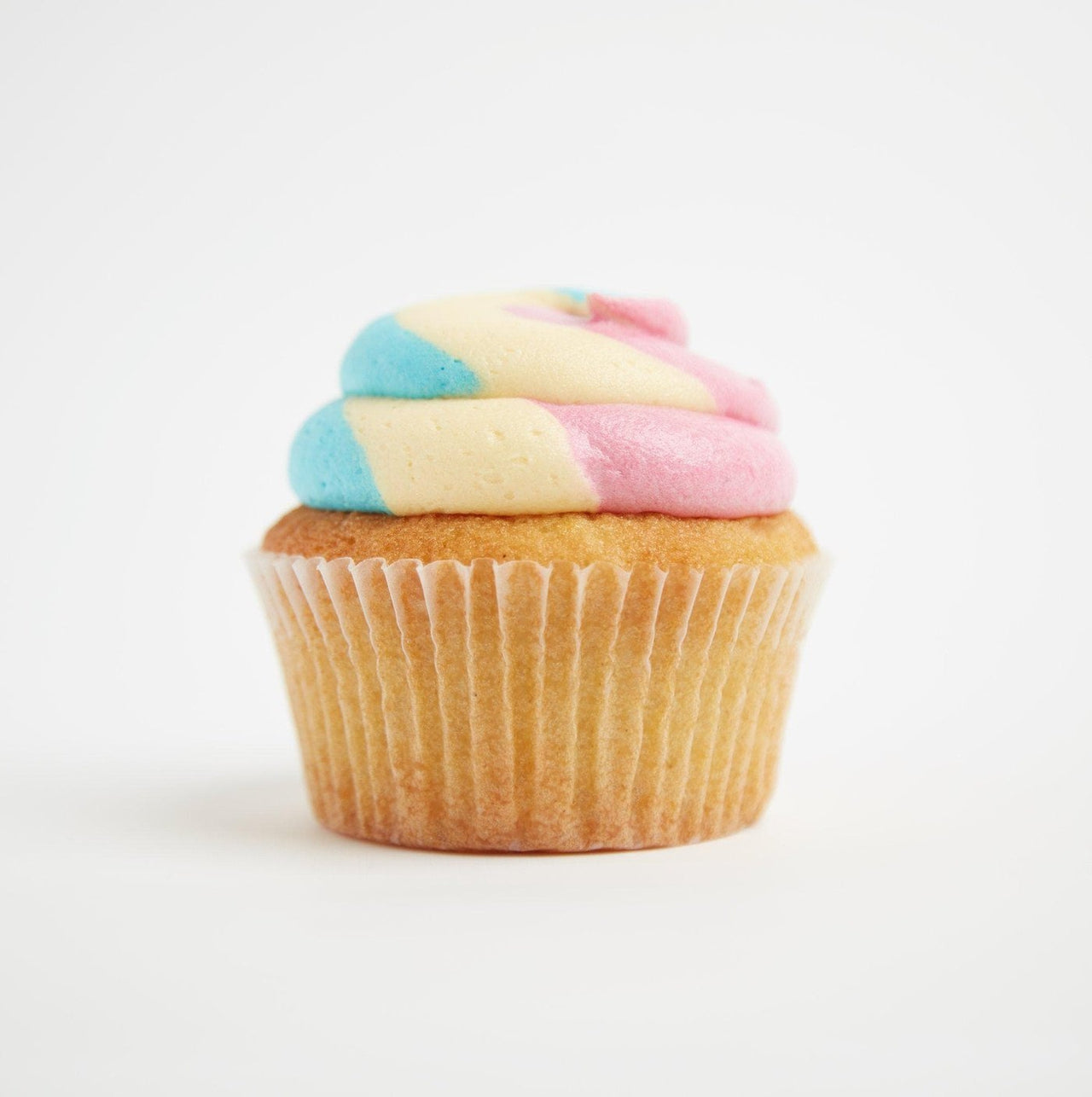 Rainbow Cupcakes by Crumbs & Doilies
