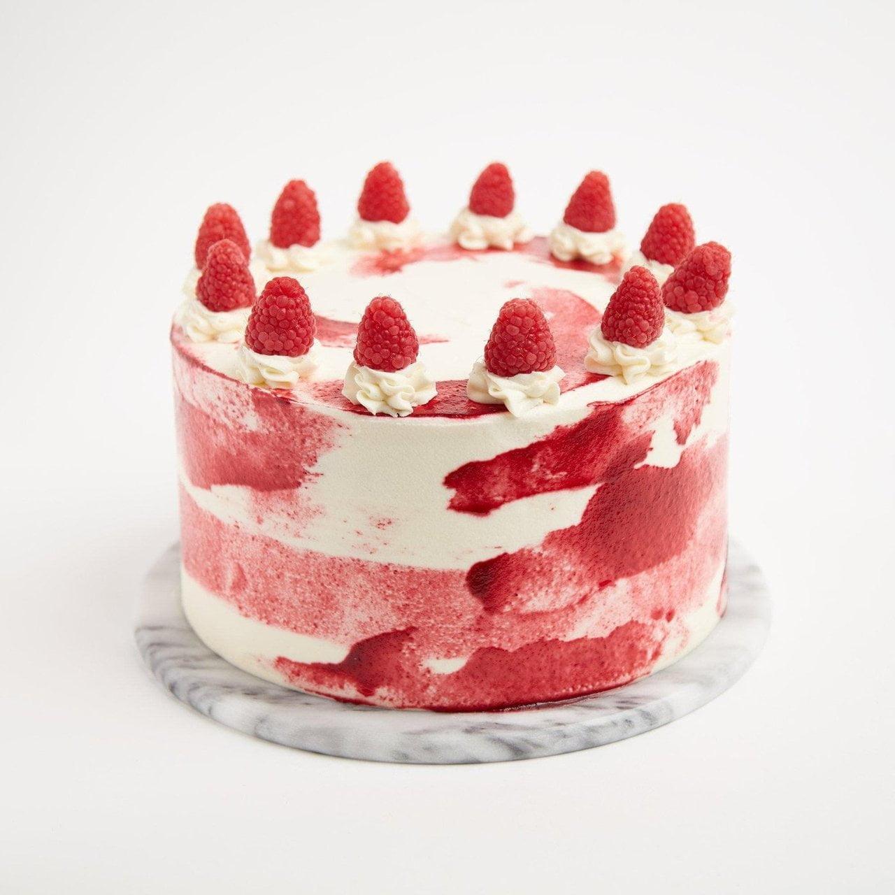 Raspberry Ripple Cake by Crumbs & Doilies