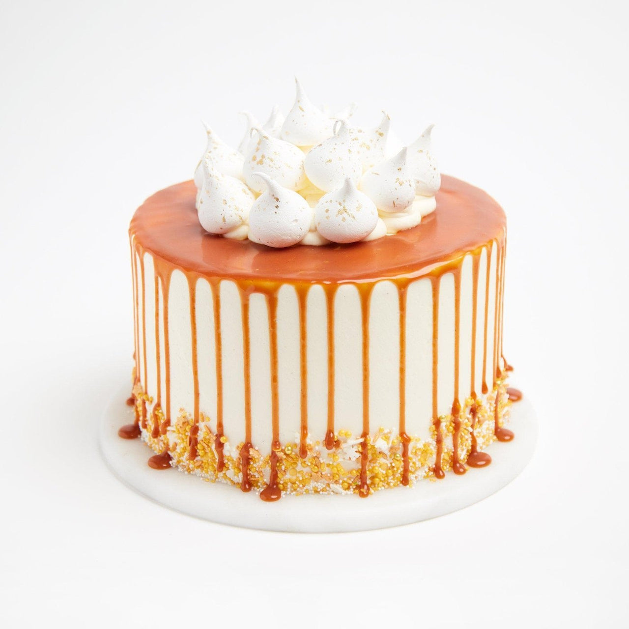 Salted Caramel Cake by Crumbs & Doilies