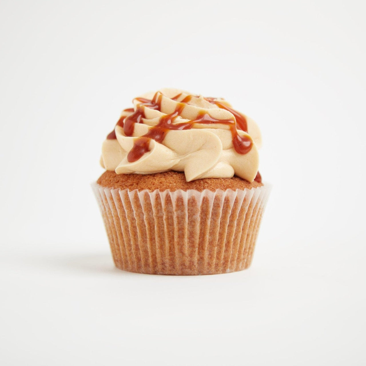 Gluten-Free Salted Caramel Cupcakes by Crumbs & Doilies