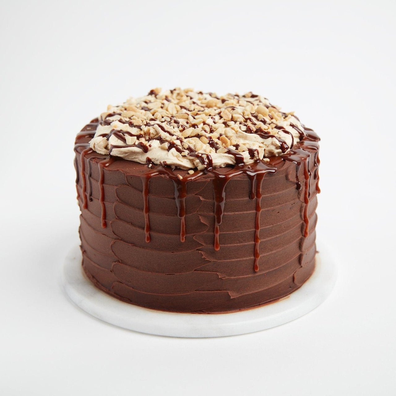 Snickers Cake by Crumbs & Doilies