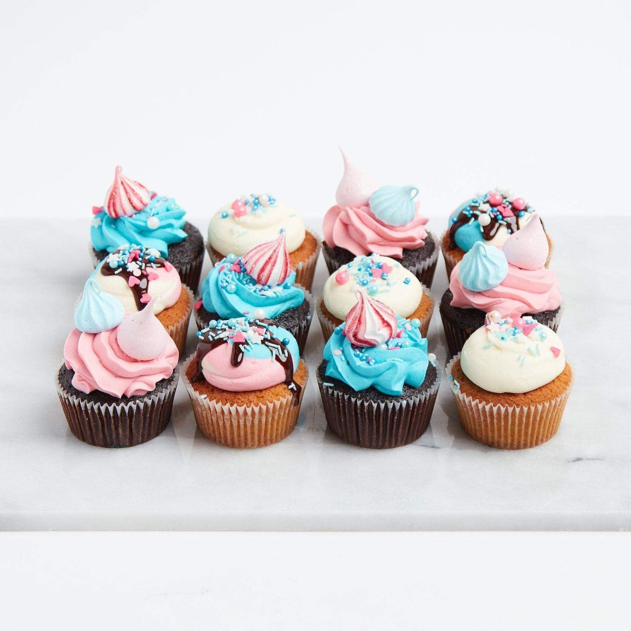 Space Unicorn Cupcakes by Crumbs & Doilies