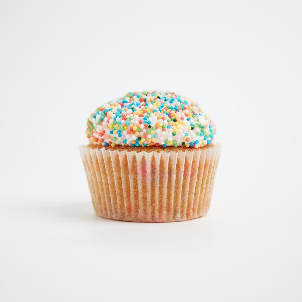 Sprinkle Cupcakes by Crumbs & Doilies
