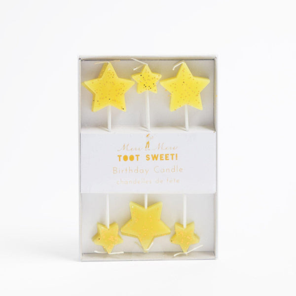 Star candles by Crumbs & Doilies