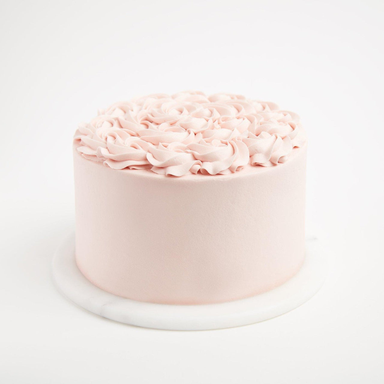 Gluten-Free Vanilla Rose Cake by Crumbs & Doilies
