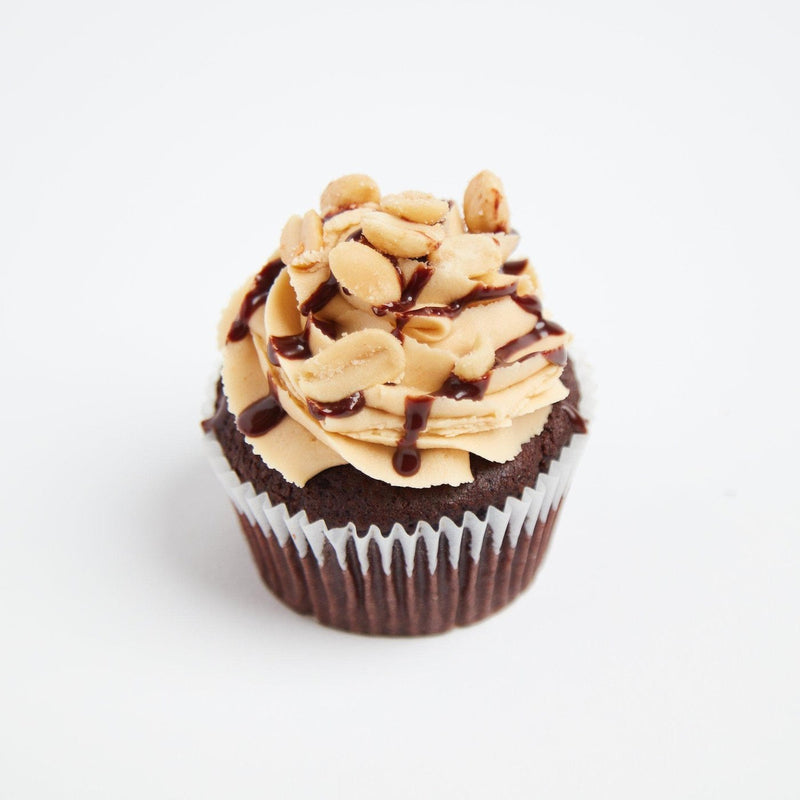 Vegan PB & Chocolate Cupcakes