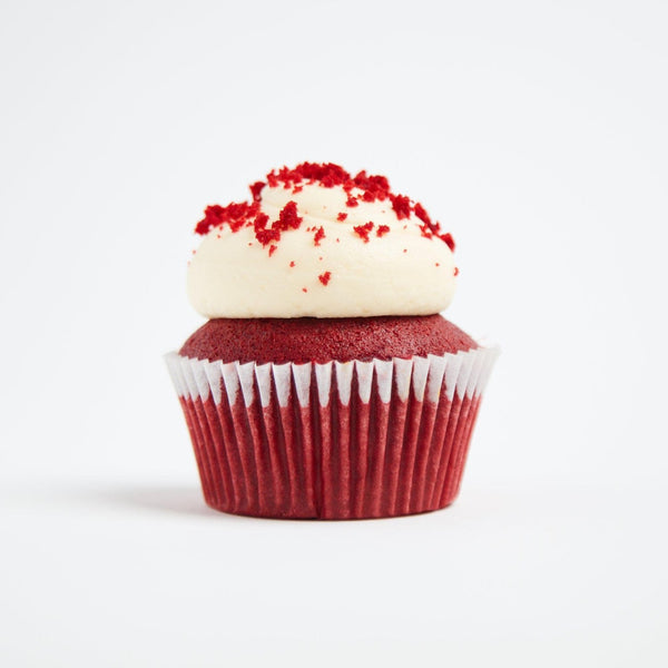 Vegan Red Velvet Cupcakes by Crumbs & Doilies