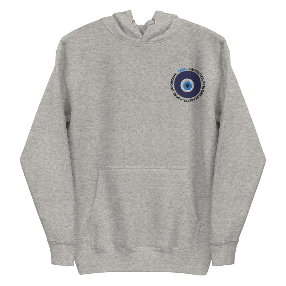 Evil Eye Embroidered Hoodie Sweatshirt