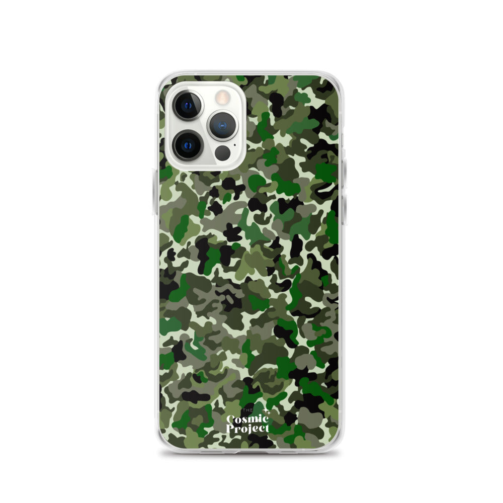 Green Camouflage iPhone Case
