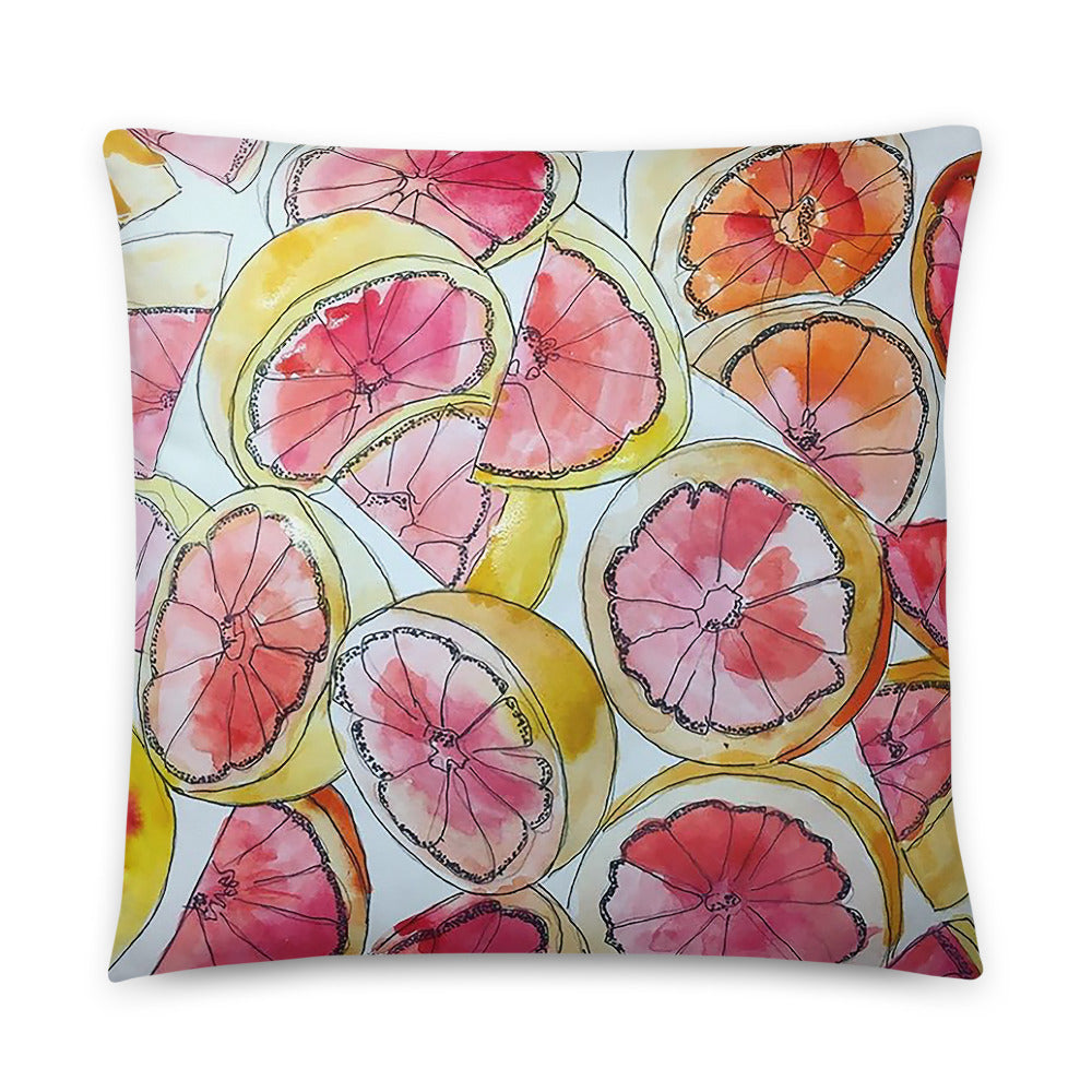 Grapefruit Pillow