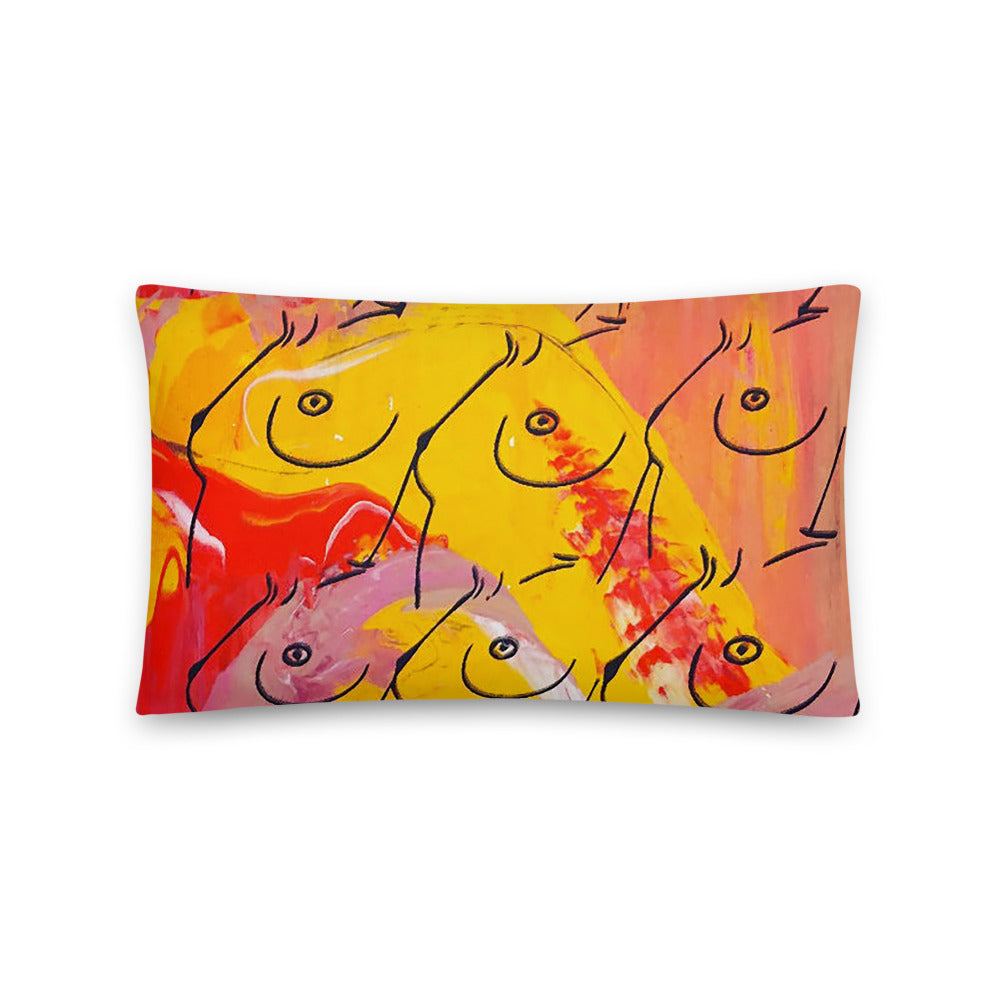 Vibrant Boobs Pillow